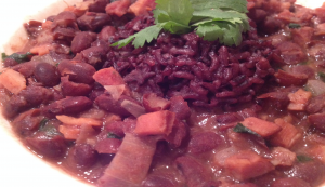 Red Beans and Purple RIce