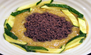 Lentils and Purple Rice